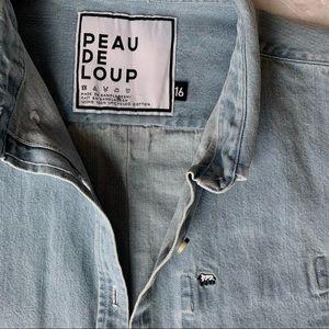 PEAU DE LOUP Denim Shirt/Overshirt